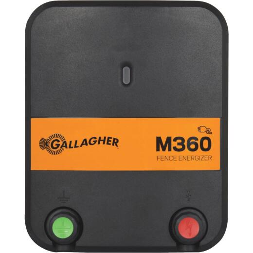 Gallagher M360 95-Acre Electric Fence Charger